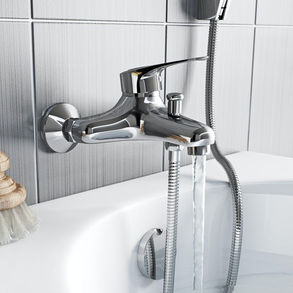Orchard Dart loop bath shower mixer tap