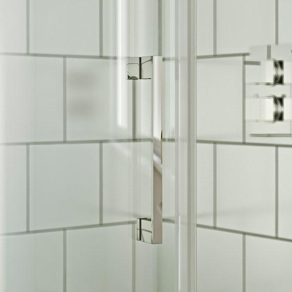 Mode Harrison 8mm left handed offset quadrant shower enclosure