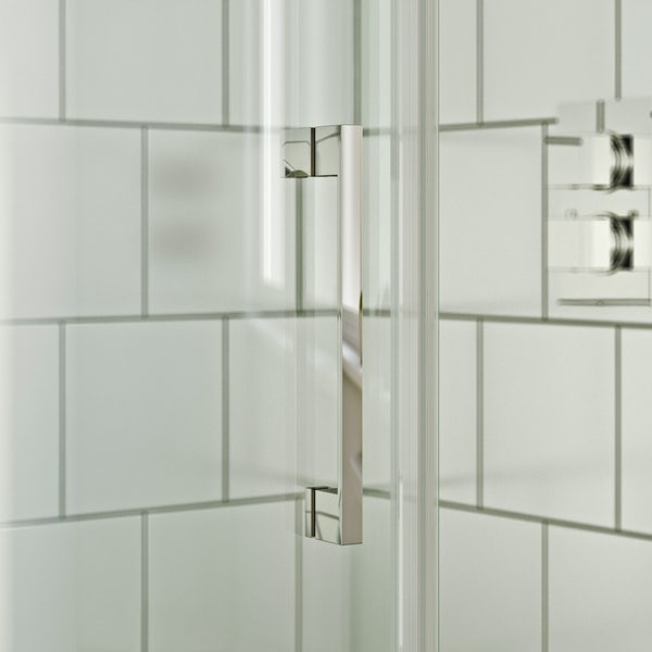 Mode Harrison 8mm left handed offset quadrant shower enclosure