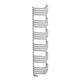 Outcorner chrome effect heated towel rail 1545 x 300