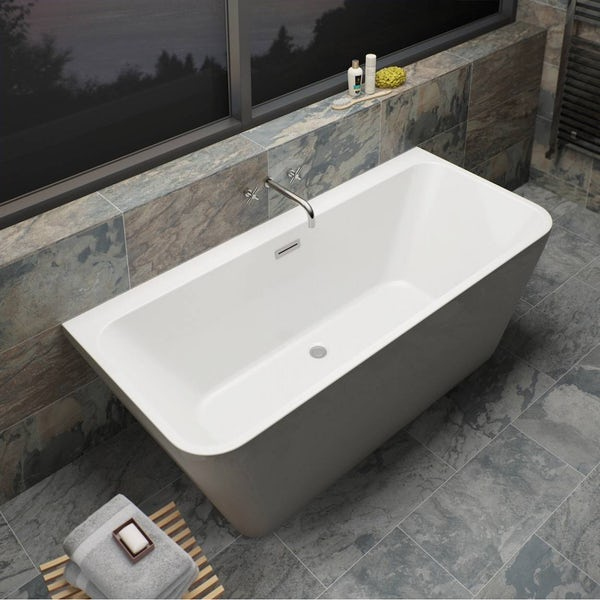 Verso Back to Wall Bath