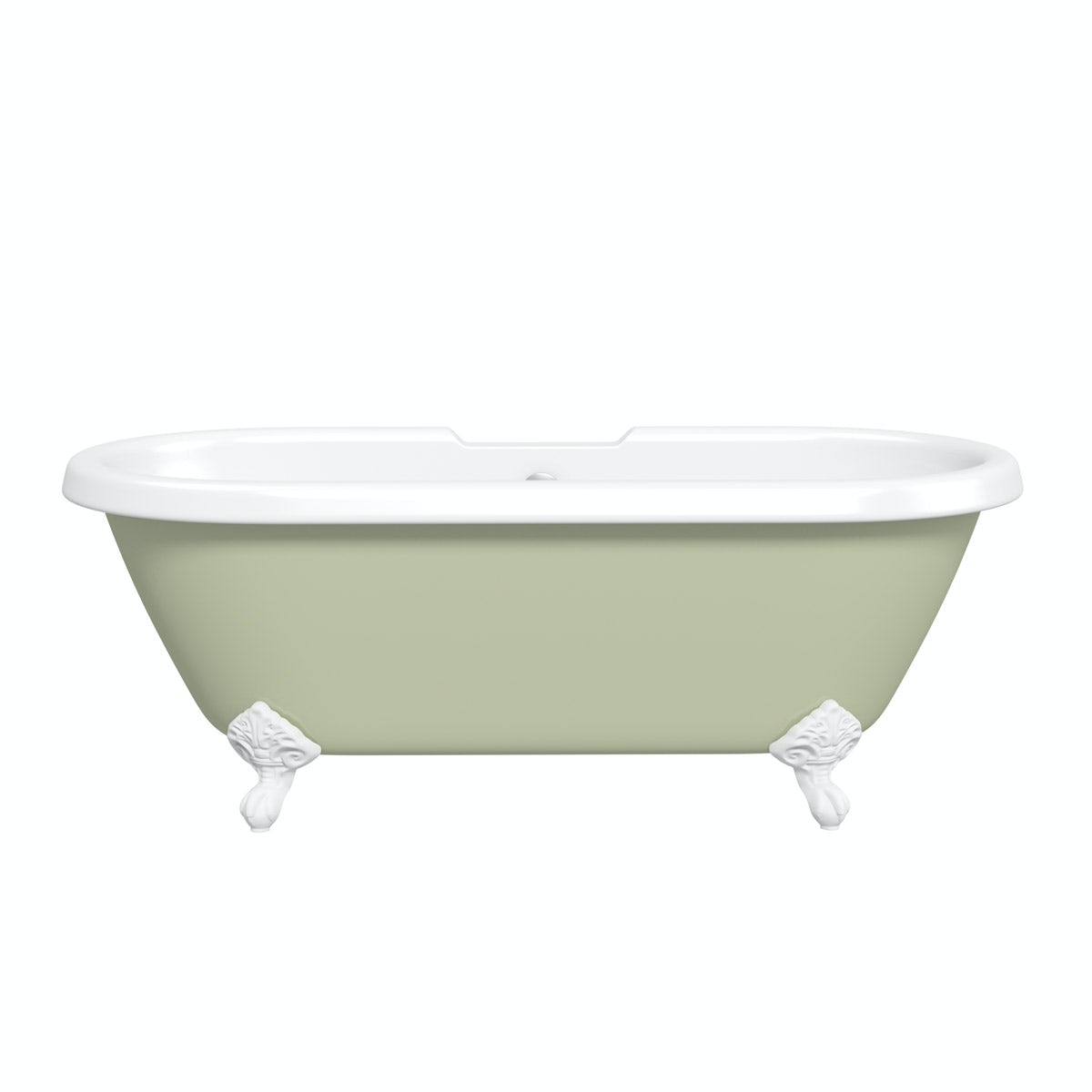 traditional roll top baths victoriaplum com the bath co dulwich sage coloured bath