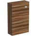 Clarity walnut back to wall toilet unit