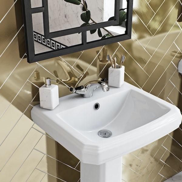 The Bath Co. Beaumont lever basin mixer tap