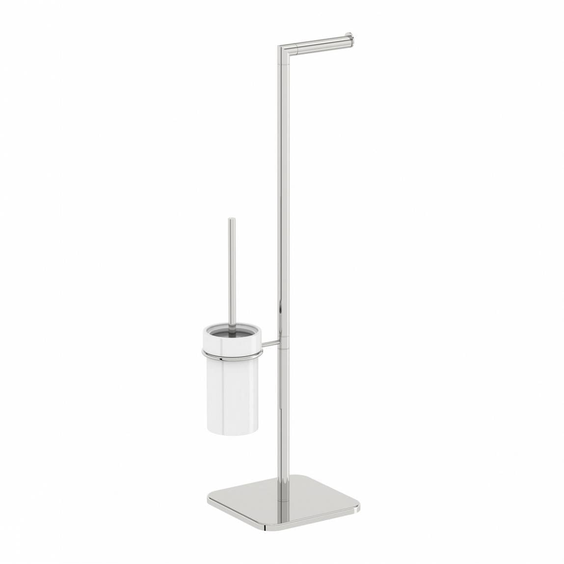 Orchard Options round freestanding ceramic bathroom butler
