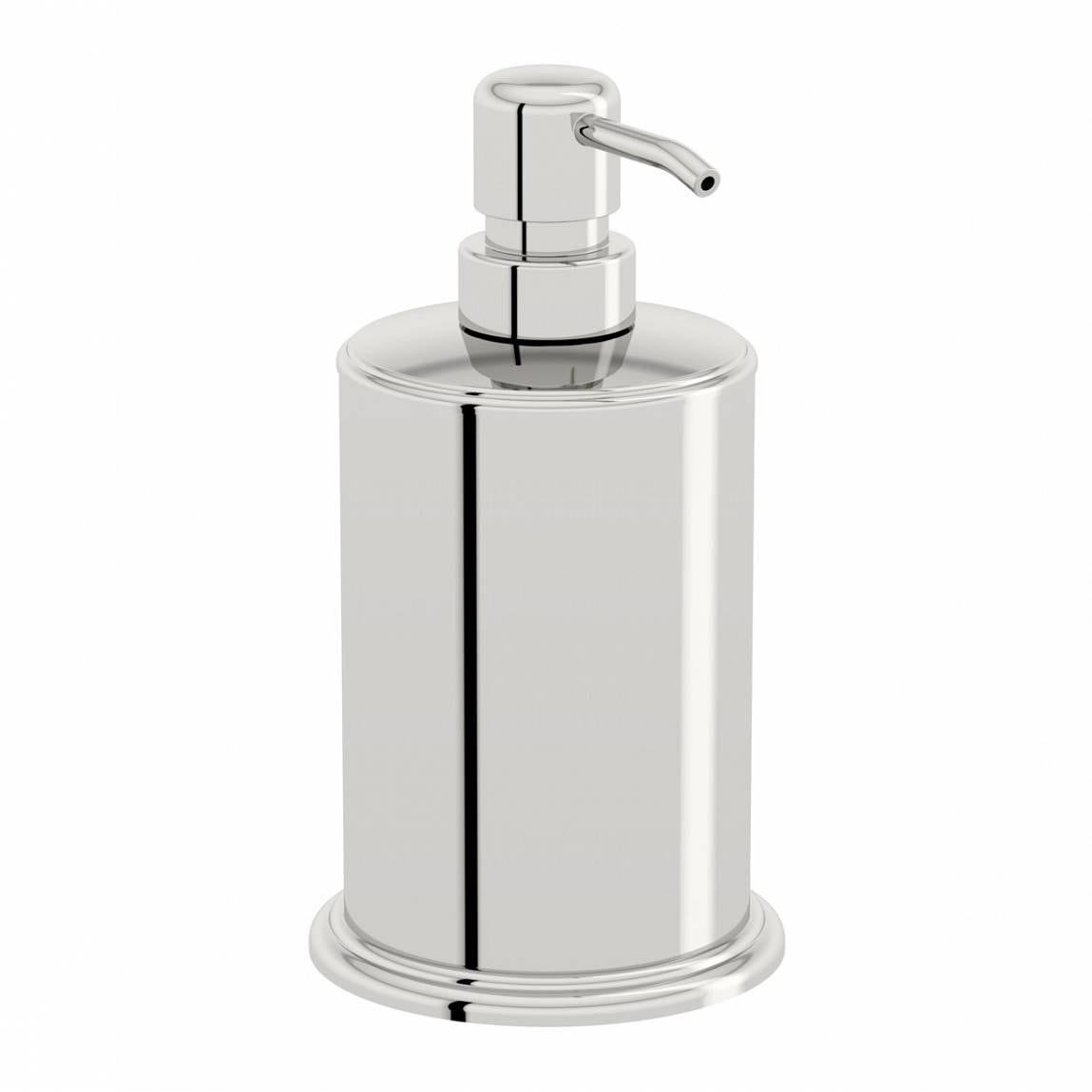 Orchard Options freestanding stainless steel soap dispenser