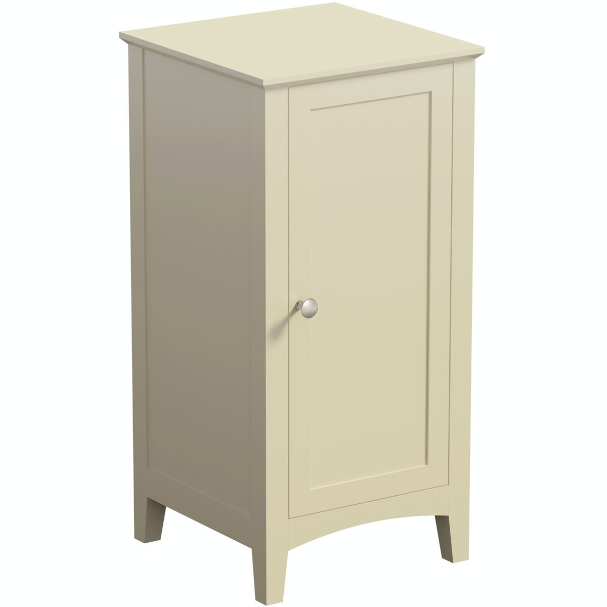 The Bath Co. Camberley satin ivory storage unit