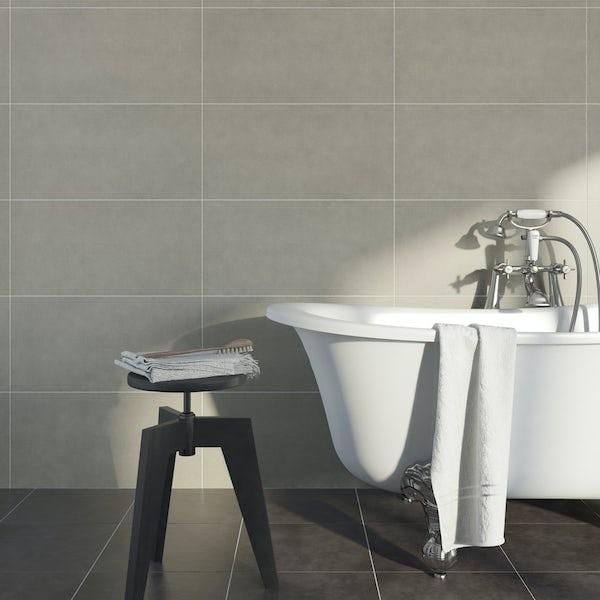 British Ceramic Tile Kaolin porcelain beige multiuse 310mm x 620mm