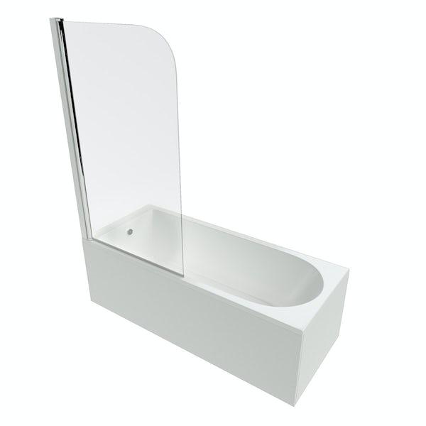 Ideal Standard Connect radius bathscreen