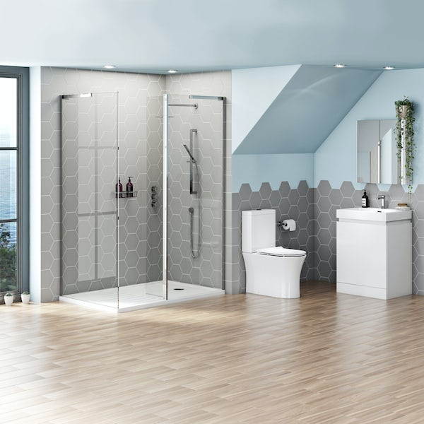 Mode Hardy complete walk in enclosure suite 1400 x 900