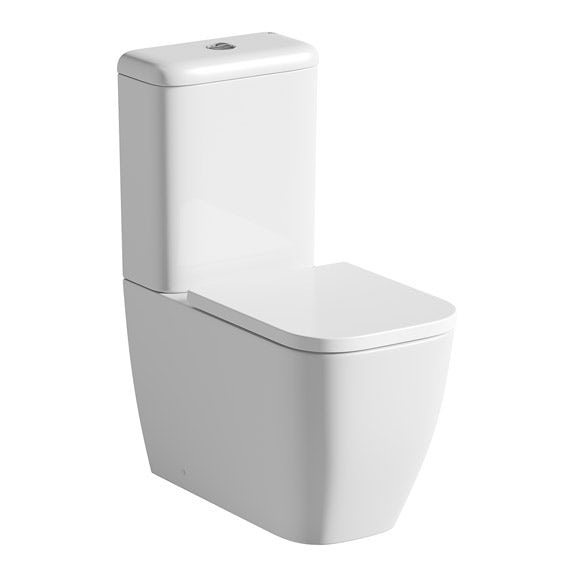 Mode Ellis close coupled toilet with soft close seat