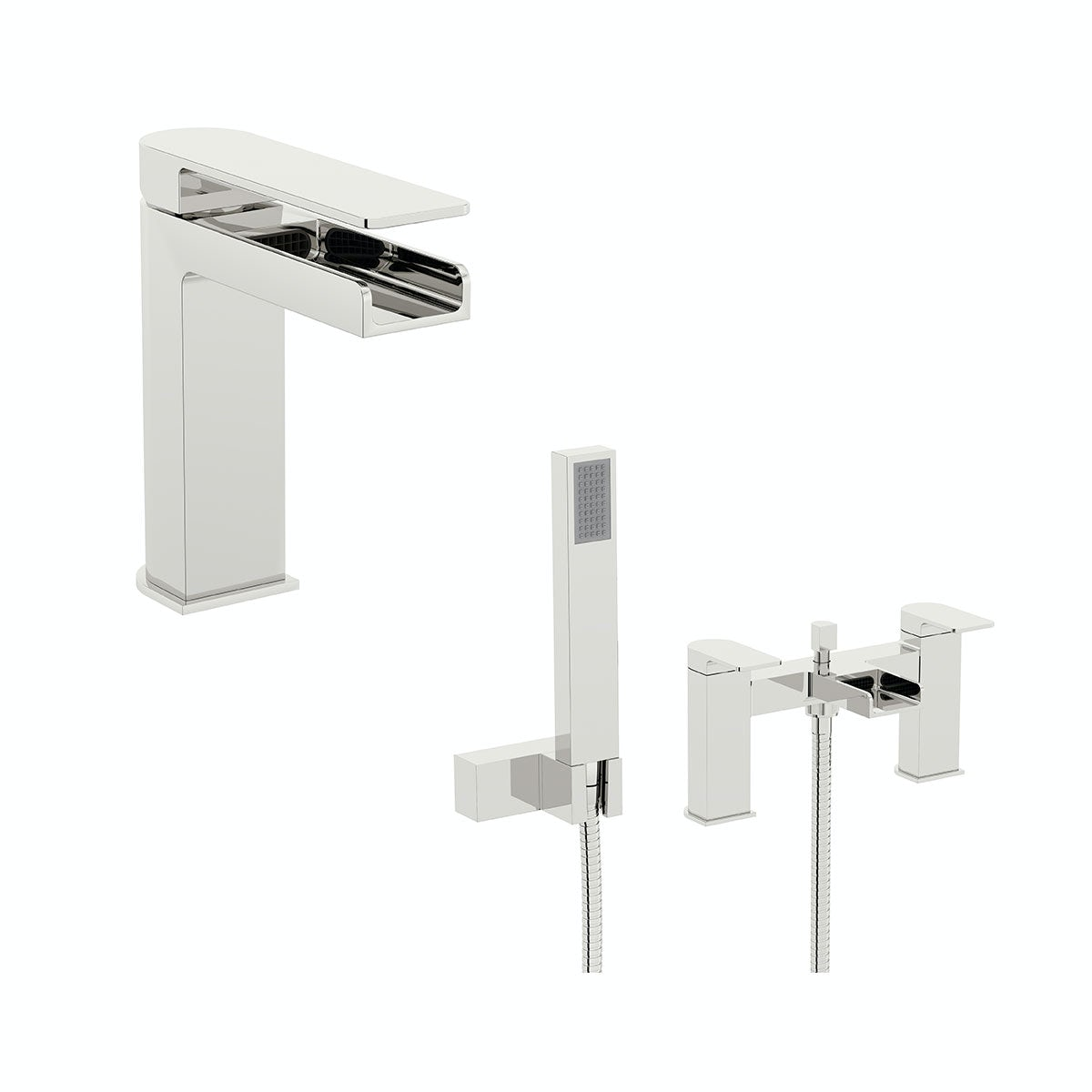 Mode Cooper basin and bath shower mixer tap pack