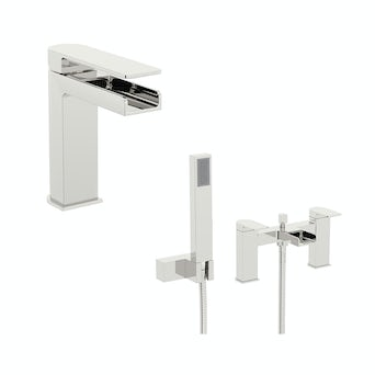 Freemont Basin and Bath Shower Mixer Pack