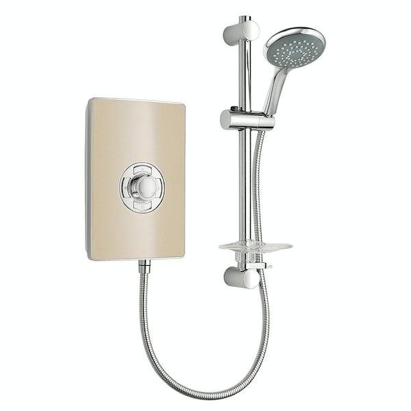 Triton Aspirante 8.5kw electric shower riviera sand