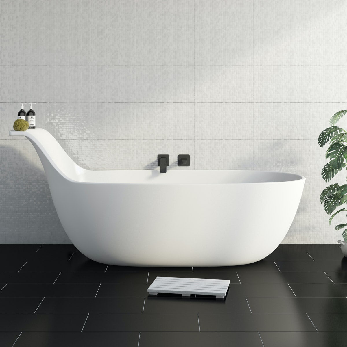 Mode Barocci solid surface freestanding bath