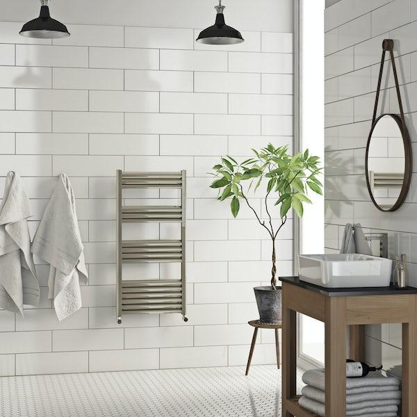 Carter heated towel rail 1000 x 500