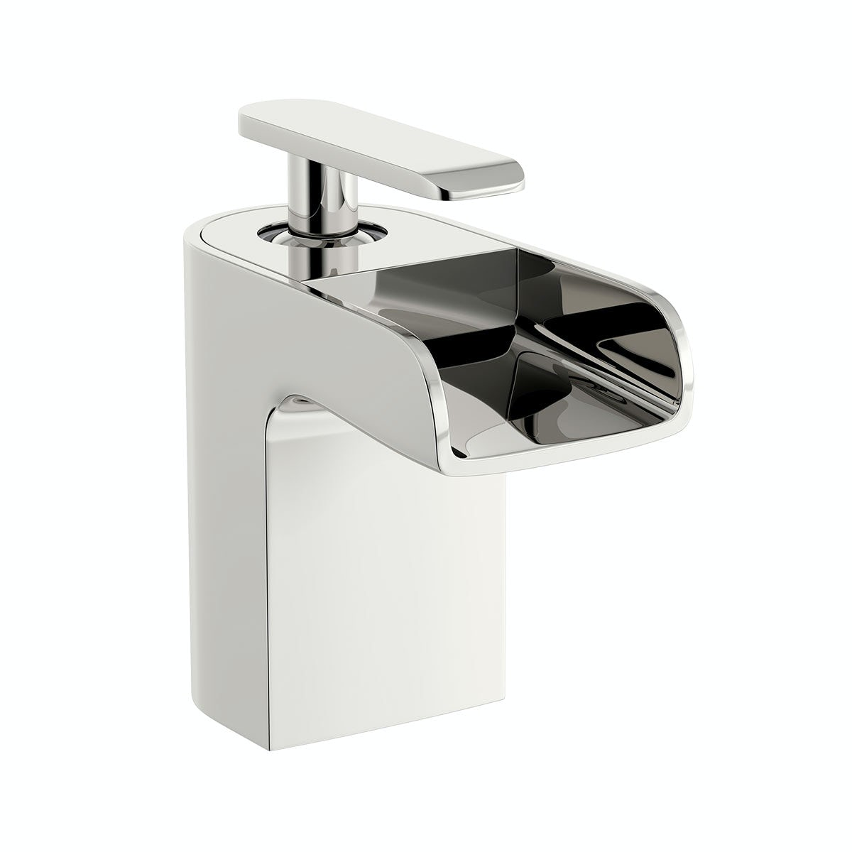 Mode reinosa basin and bath mixer tap pack for Waterfall delivery