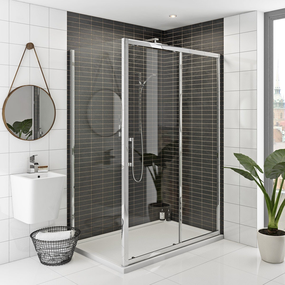Mode Hardy 8mm complete shower enclosure pack