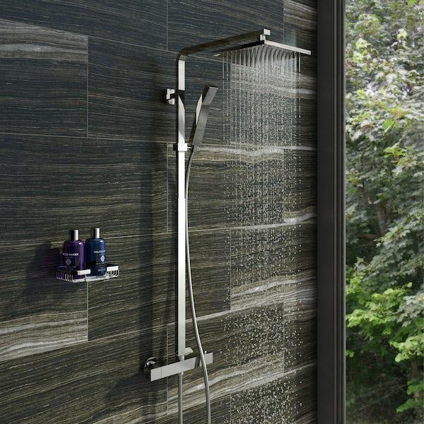 Orchard Cubik thermostatic bar valve shower system