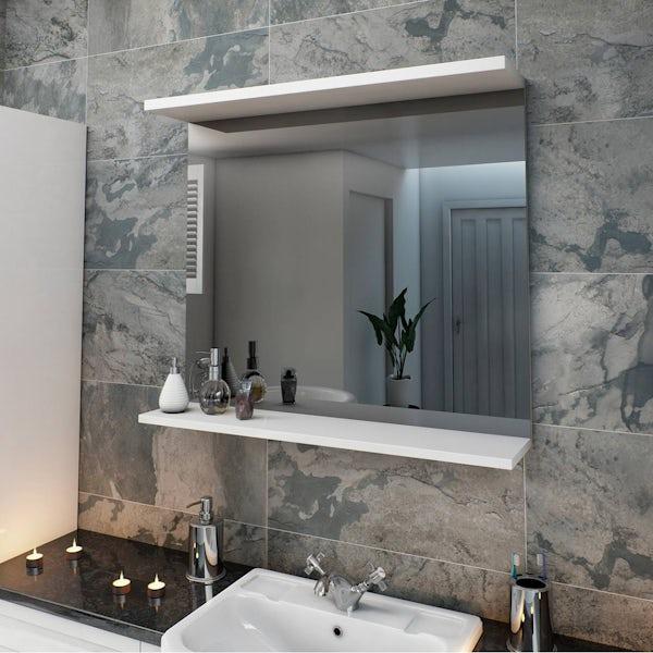 Florence White 850 Mirror