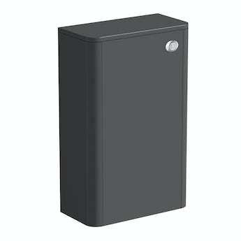 Mode Purity pebble grey back to wall toilet unit