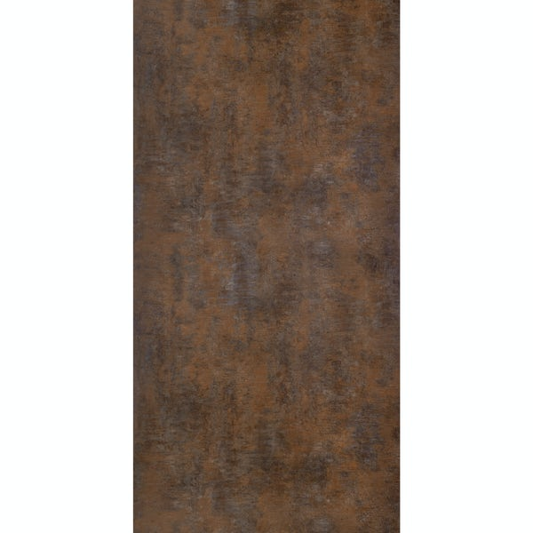 Multipanel Linda Barker Corten Elements unlipped shower wall panel 2400 x 1200