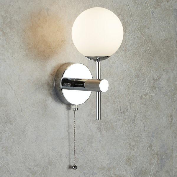 Searchlight Global bathroom wall light