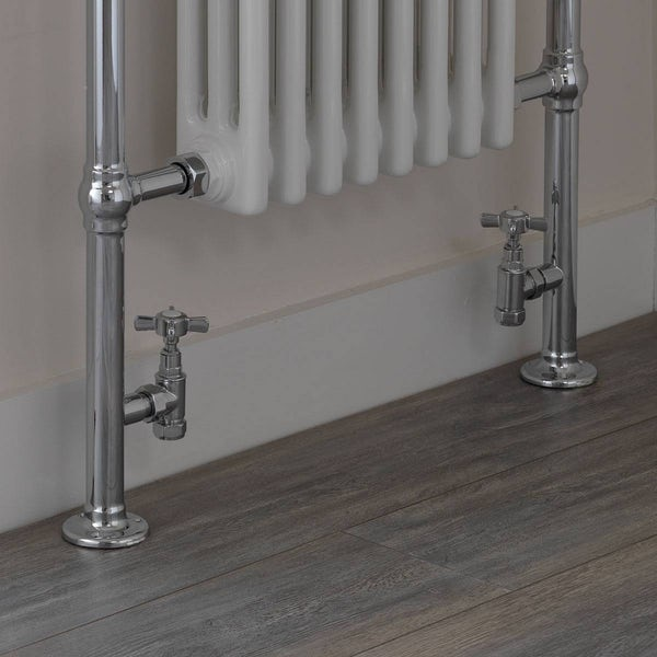 The Bath Co. Traditional angled radiator valves