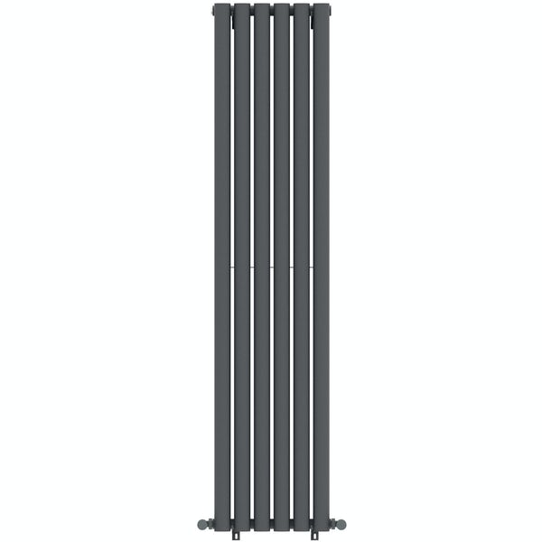 Mode Tate double vertical radiator 1600 x 360