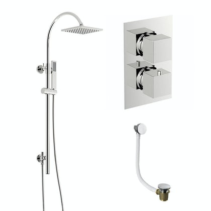 Ellis Thermostatic Shower Bath Set