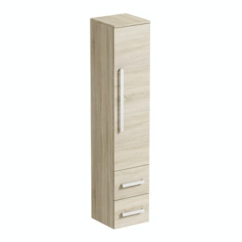Orchard Wye oak wall cabinet