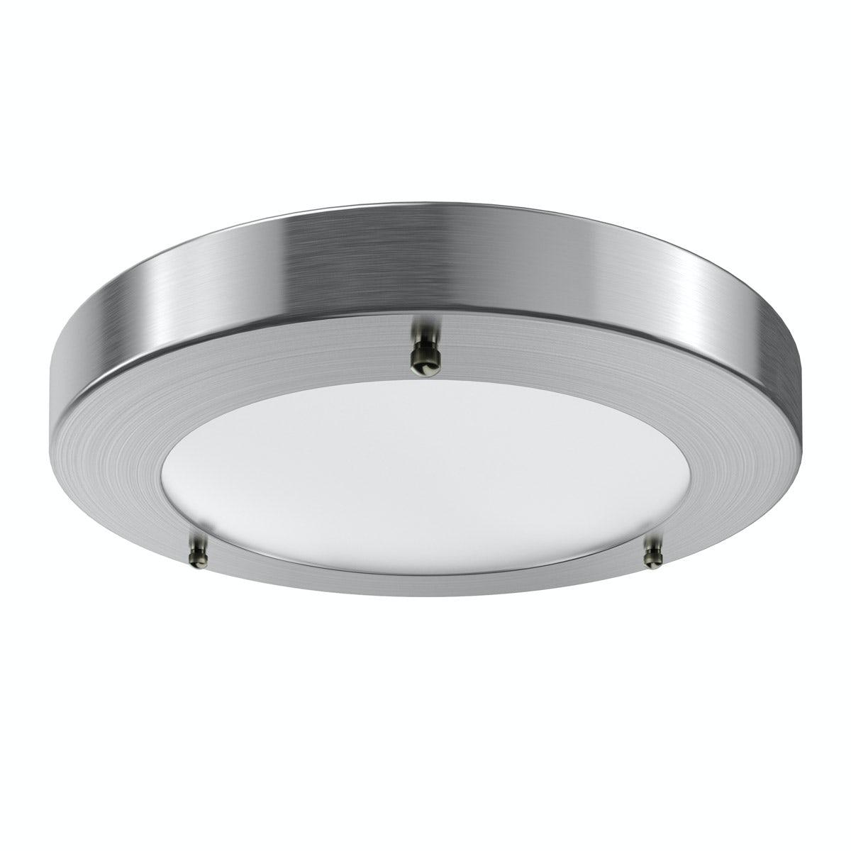 Forum Llum large round flush bathroom ceiling light
