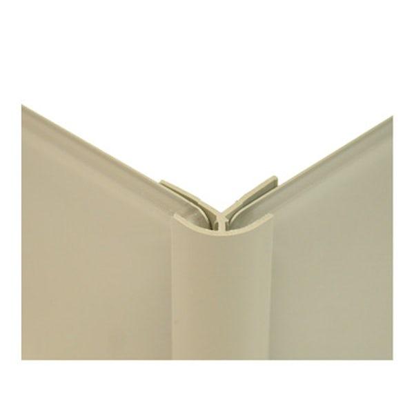 Zenolite plus matt stone color matched external corner joint 250mm