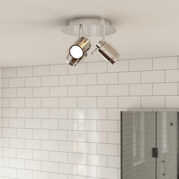 Forum Ligero 3 light bathroom spotlight