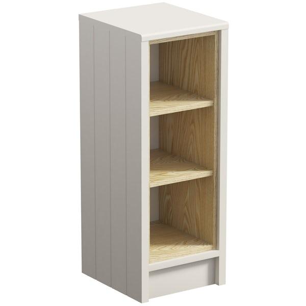 Dulwich ivory open storage unit