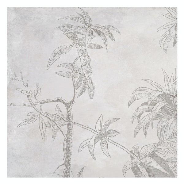 Ted Baker Paradise matt grey wall and floor tile 331mm x 331mm