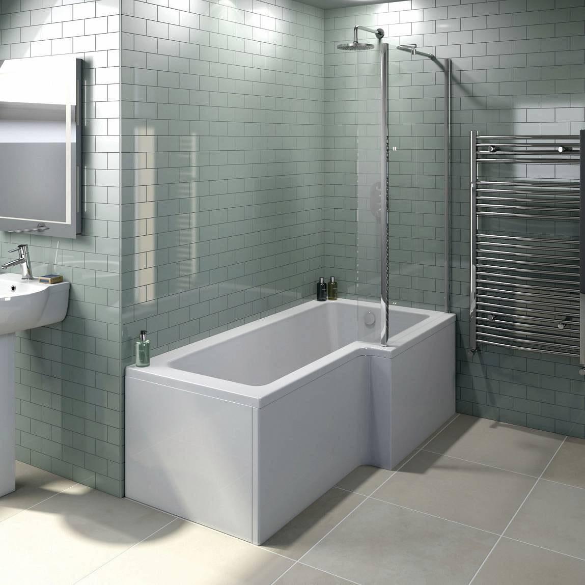 Boston Shower Bath 1500 x 850 RH
