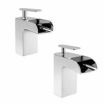 Mode Reinosa basin and bath mixer tap pack