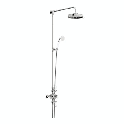 Winchester dual valve riser shower system