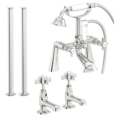Hampshire basin tap and bath shower mixer standpipe tap pack
