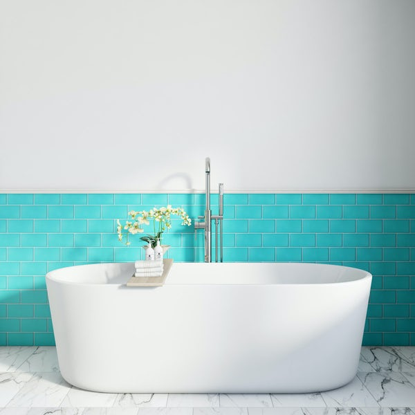Ceramica Subway Tile - Teal
