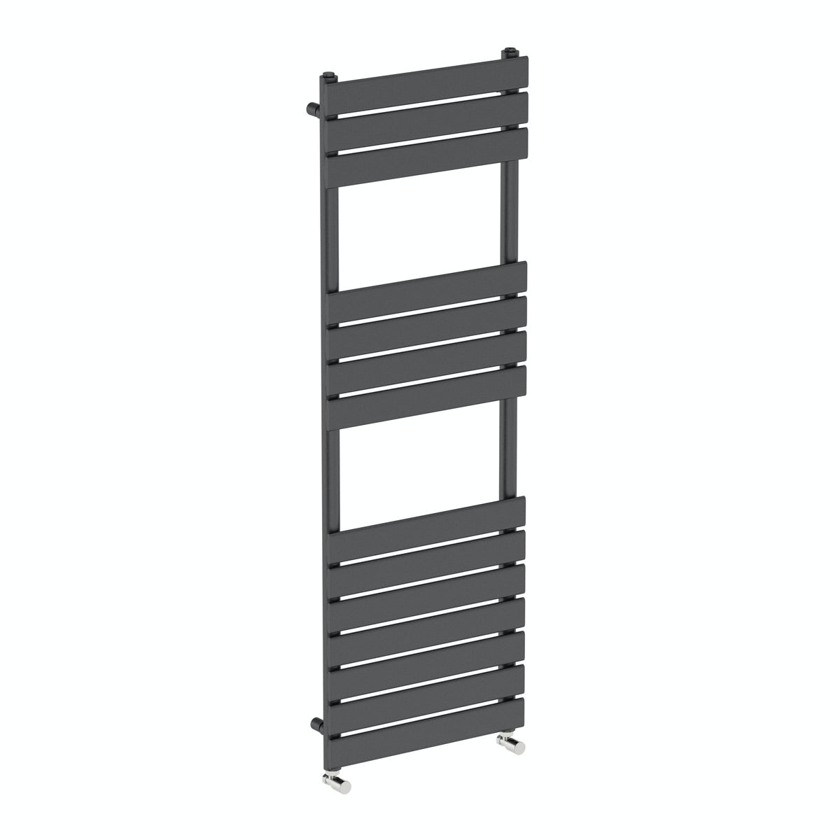 Orchard Wharfe anthracite heated towel rail 1500 x 500 offer pack