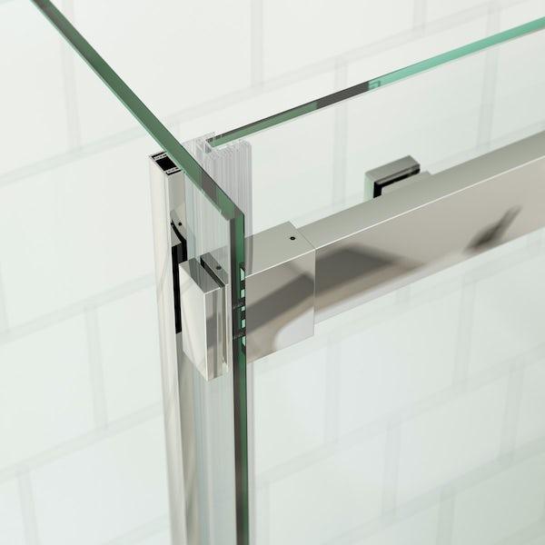 Mode Harrison 8mm easy clean rectangular shower enclosure
