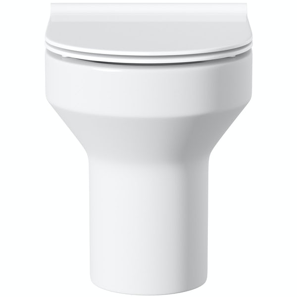 Orchard Wharfe back to wall toilet with soft close slim seat