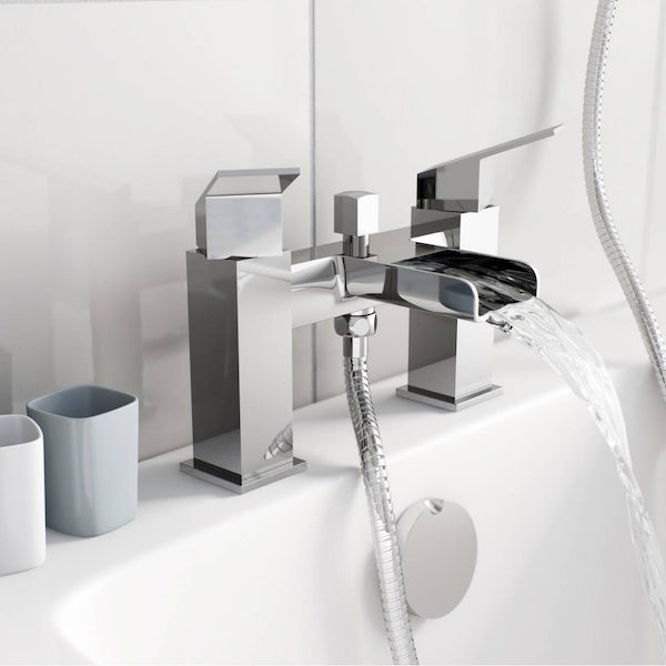 Wye Waterfall Bath Shower Mixer