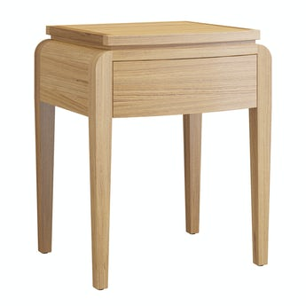 Reeves Samuel natural oak side table
