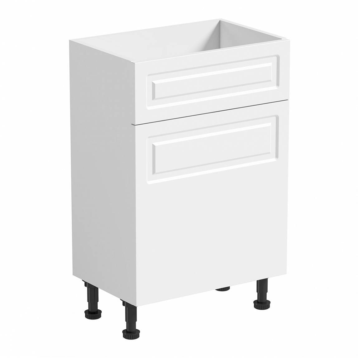 Florence White Back to Wall Unit