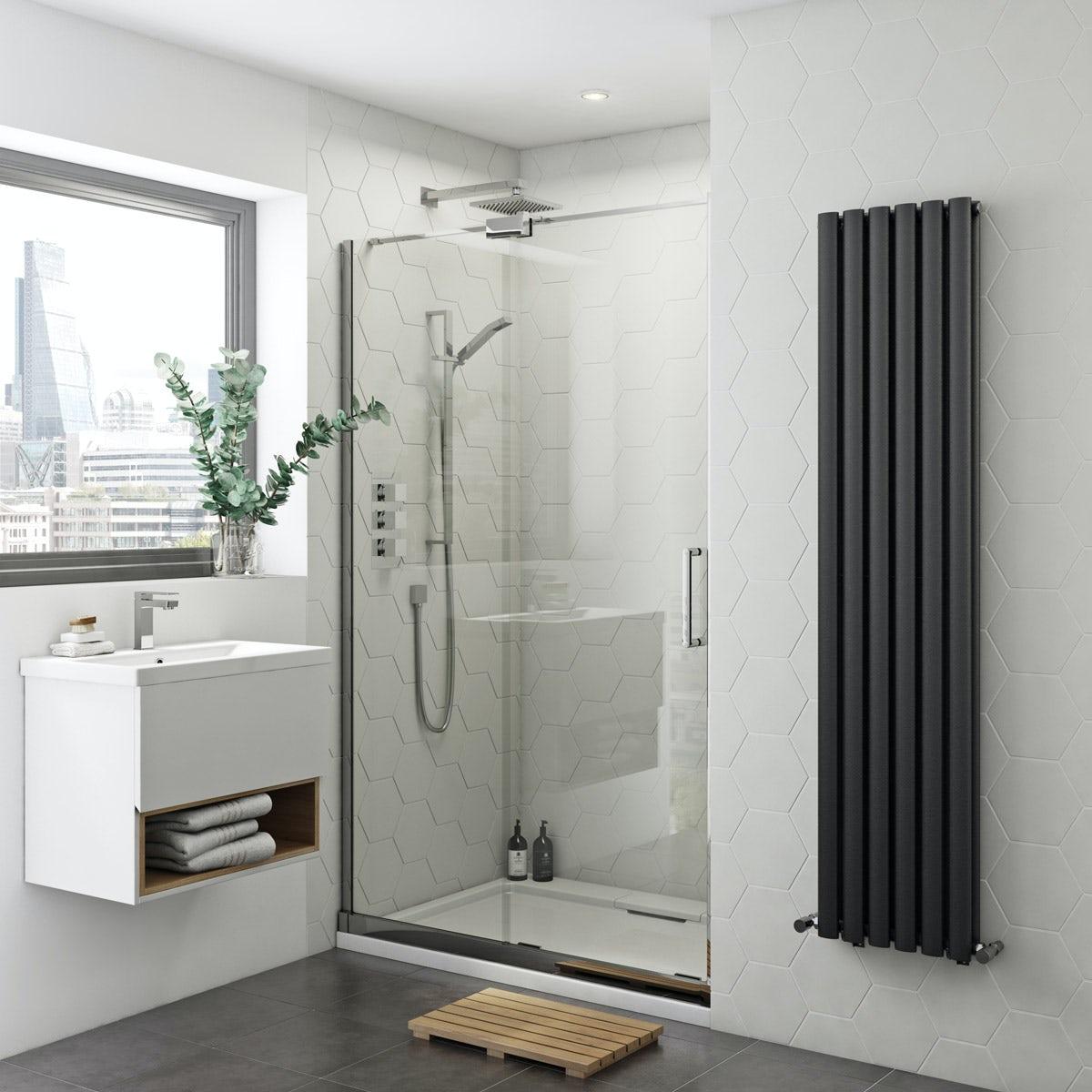 Mode Ellis 8mm easy clean left handed frameless sliding shower door