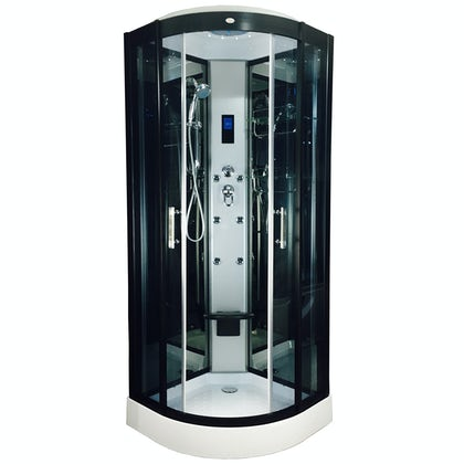 Insignia quadrant hydro-massage shower cabin 800 x 800