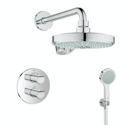 Grohe Grohtherm 2000 concealed thermostatic shower set
